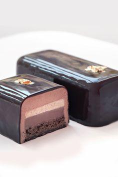 Bûche chocolat - La Pâtisserie des Rêves