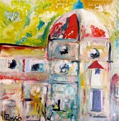 Cathedral by Antonio Russo Available Now #art #abstract #painting #artist #arrusoart
