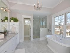 The Benefits of Classic Mediterranean Bathroom Lots of people want to have a beachfront home. If you've been at your existing home for quite a while, you most likely have a great deal of equity… Modern Master Bathroom, Bathroom Spa, Bathroom Layout, Bathroom Colors, Bathroom Interior Design, Bathroom Ideas, Bathroom Organization, Minimal Bathroom, Bathroom Cleaning
