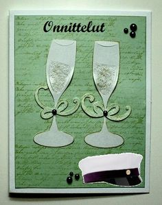 Omatekoiset itsetehdyt kortit Flute, Champagne, Printables, Cards, Gifts, Diy, Gift Ideas, Students, Presents