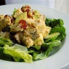 Fruited Curry Chicken Salad - Allrecipes.com