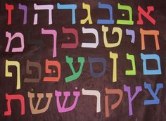 wonderful hebrew letters