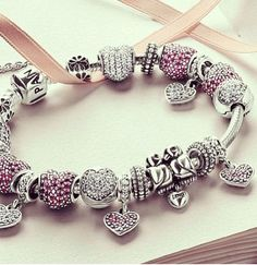 Pandora, bracelet, Valentine's Day, Cute Gift Ideas for her from him. The perfect gift for a wife, fiance, love of your life
