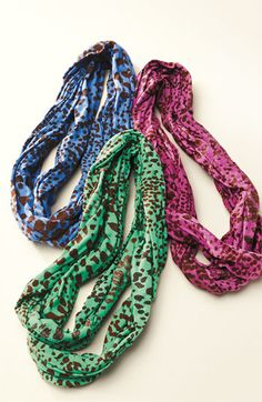 Erge Designs Spotted Infinity Scarf (from Nordstrom)