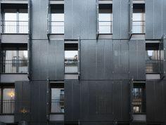 10 logements rue Legendre Paris / France / 2012  Avenier & Cornejo Architectes
