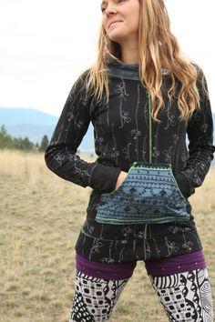 Painstaking Bloom Jacket Organic Cotton Hoodie Athletic Yoga Hoodie Gray Size Large Coat Activewear