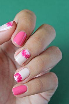 Week 1: Dahlia Nails | Nailscope: Week 1: Dahlia Nails