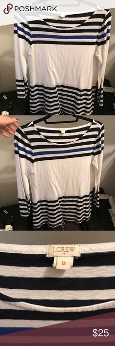 J Crew shirt Excellent used condition. So comfy! J. Crew Tops