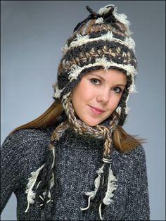 Bohemian Chic Crochet Hat: free pattern