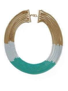 Piperlime | Multi Chain Ombre Necklace