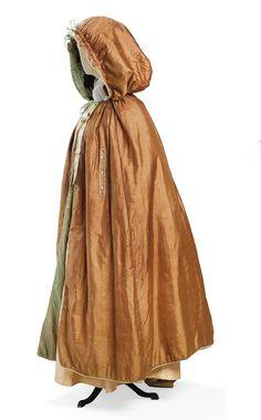 Cloak ca. 1790  From CHRISTIE'S