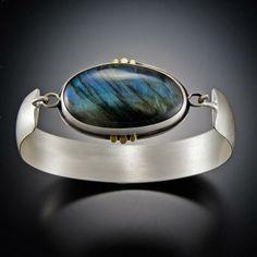 Labradorite Tension Cuff Bracelet | Ananda Khalsa Jewelry