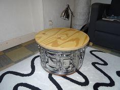 ■ Pouf tambour machine à laver ■