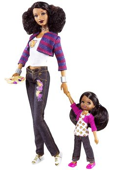 "2009 Trichelle™ & Janessa™ Dolls — ""Art"" 