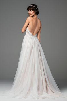 58701 Esperance 2017 Willowby By Watters romantic wedding dress.