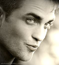Robert Pattinson. Oh I wish - but it might be a bit creepy to play the character that you actually inspired. (Cab)