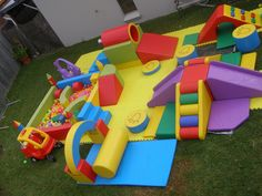 Tumbling Tigers are available for corporate events services hire. As our equipment is specifically designed for use by toddlers, it creates an ideal amusement for parents to use at any event. Kids Backyard Playground, Backyard For Kids, Toddler Play, Baby Play, Daycare Design, Kids Play Spaces, Kindergarten Design, Play Gym, Soft Play