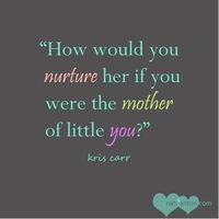 Wellness through a mother's perspective. Crazy Sexy quote by Kris Carr.