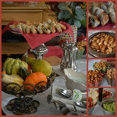 Fall Appetizer Table via My Halal Kitchen
