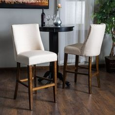 Shop for Harman Fabric Barstool (Set of 2) by Christopher Knight Home. Get free shipping at Overstock.com - Your Online Furniture Outlet Store! Get 5% in rewards with Club O!
