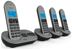 BT - 3580 - Cordless Telephone & Answer Machine - Quad: The BT 3580 comes with 50 name and number nuisance call blacklist capability to…