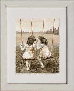 The Secret 8x10 archival watercolor print door TracyLizotteStudios