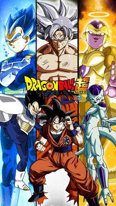 Vegeta, Goku y Freezer Dragon Ball Gt, Goku Y Freezer, Freezer Freezer, Akira, Dragonball Super, Manga Dragon, Anime Shows, Animes Wallpapers, Fan Art