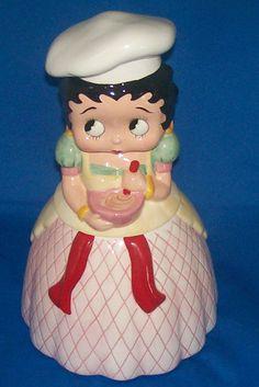 Betty Boop Cookie Jar by Vandor
