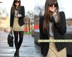 Sequin Skirts