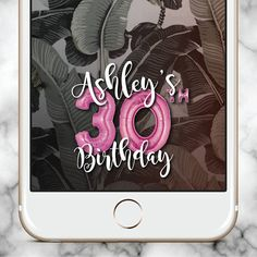 Snapchat Filter, Snapchat Geofilter Birthday, 21st birthday gift for her, 21st Birthday for her, Birthday Snapchat Filter, 30th birthday gift for her, 30th Birthday for her, 30th Birthday Snapchat Filter, Snapchat Filter Birthday, Gold Balloons Snap Chat  This gold balloons personalized Snapchat geofilter is ideal for any and every event, celebration or party. Impress your guests with this cool Snap filter! Its a fun way to make your day extra special. Personalize your occasion with your own…