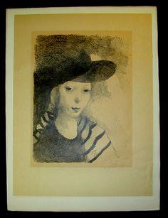 Portrait de l'artist-A.jpg (500×651)  Laurencin