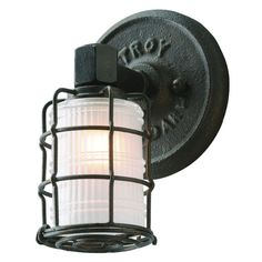 Troy Lighting Mercantile 1 Light Bathroom Sconce with Frosted Glass Vintage Bronze Indoor Lighting Bathroom Fixtures Bathroom Sconce Bathroom Sconces, Modern Wall Sconces, Bathroom Vanity Lighting, Wall Sconce Lighting, Bathroom Ideas, Basement Bathroom, Bathrooms, Troy Lighting, Lighting Ideas