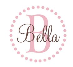 "Polka Dot Border Circle Initial Custom Personalized Monogram and Name Vinyl Wall Decal Teen Boy Girl Baby Nursery Cute Design 22""H x 22"" W on Etsy, $35.00"