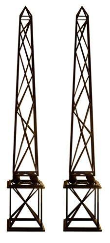 Obelisks for Vines