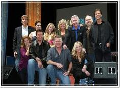 This picture of members of the Guiding Light cast was taken in March 2010 at Mohegan Sun Casino in Connecticut.