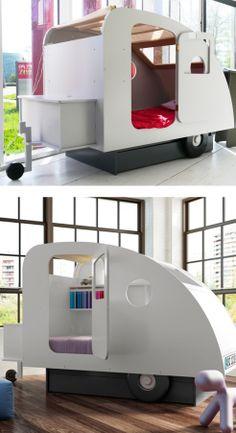 Kid's Caravan Bed