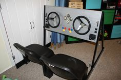Gospel Project Unit 1 (In The Beginning...): DIY cockpit for kids