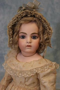 "Antique 27"" (69cm) Gorgeous Bru Jne sz 10 French Bisque Bebe Gorgeous outfit!"
