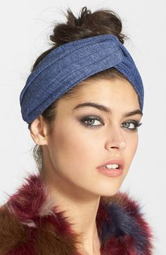 Berry 'Twisting The Most' Turban Head Wrap available at #Nordstrom