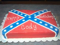 65 Best Food Images In 2017 Confederate Flag Food Rebel Flag Cake