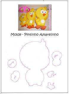 molde da borboletinha da galinha pintadinha em eva - Pesquisa Google