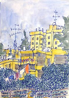 Reuven Dattner's Pattern-rich Israel