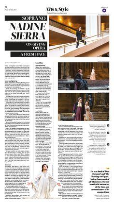 Soprano Nadine Sierra on Giving Opera a Fresh Face|Epoch Times #Opera #Soprano #NadineSierra #newspaper #editorialdesign