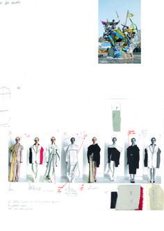 Fashion Sketchbook - fashion design development; creative process; fashion portfolio // Masha Reva