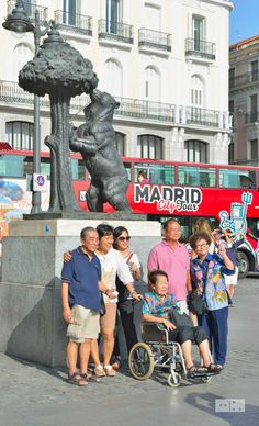 Tourists in Madrid