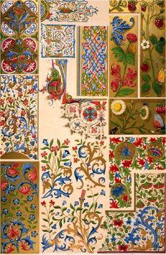 славянский орнамент, фрески
