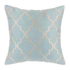 Blue & gold cushion