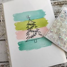 """Impress on Instagram: """"The perfect tree topper. Stop by Impress and we'll help you decide what holiday card to make. Impresscardsandcrafts #holidaycards…"""" Cool Christmas Cards, Christmas Topper, Christmas Drawing, Xmas Cards, Christmas Greetings, Holiday Cards, Christmas Crafts, Diy Tree Topper, Tree Toppers"""