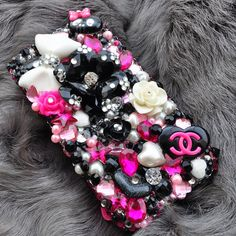 iphone 4 and  iphone 4s case Pink swarovski by DemiGoddessCo, $55.00