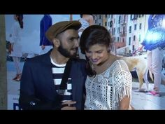 Ranveer Singh & Priyanka Chopra at Dil Dhadakne Do's trailer launch.
